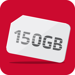 Mobile Internet 150 GB ( Non-Contracted )