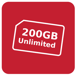 200GB Unlimited (24 Months)