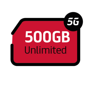 Mobile Internet 500GB Unlimited